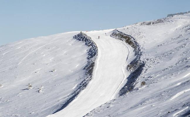 Casi diez kilómetros de pistas esquiables en Valdezcaray