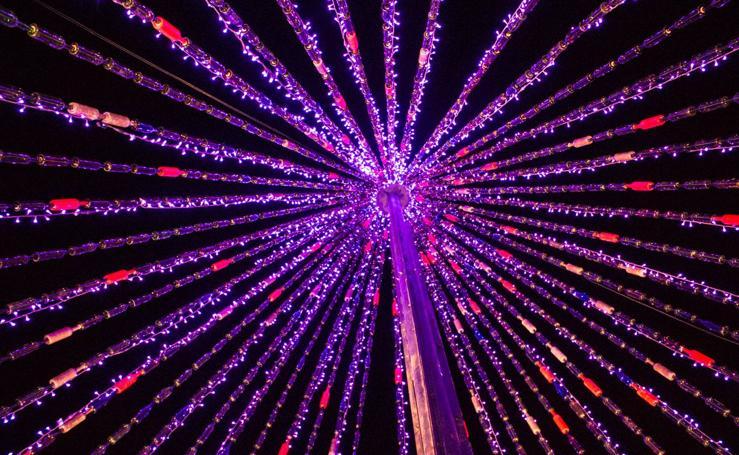 Encendido del árbol de Navidad de Grañón