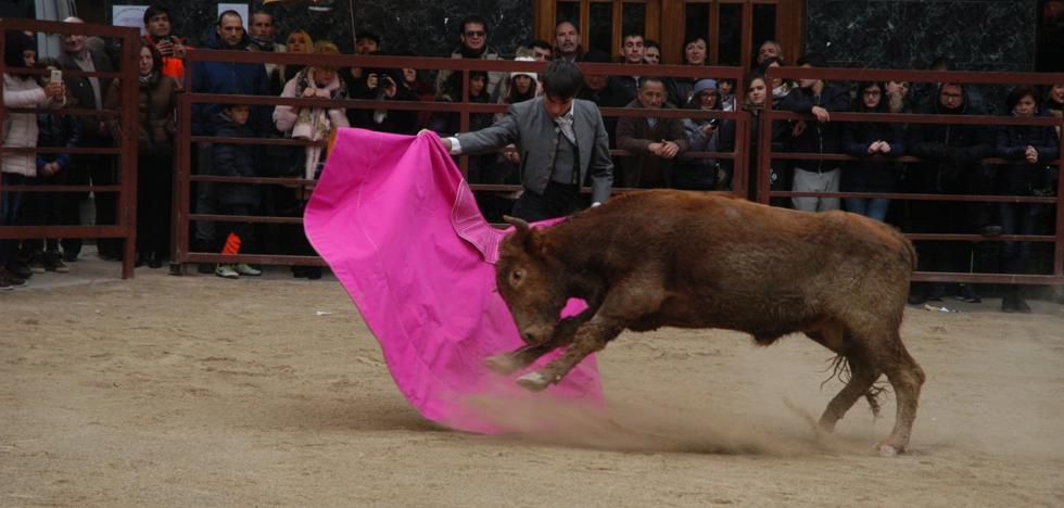 Javier Poley realizó ayer la mejor faena en Rincón de Olivedo
