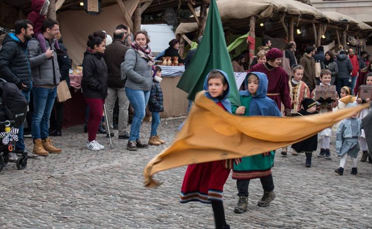 Fiesta del Mercado Medieval por su 25 aniversario en Santo Domingo de la Calzada