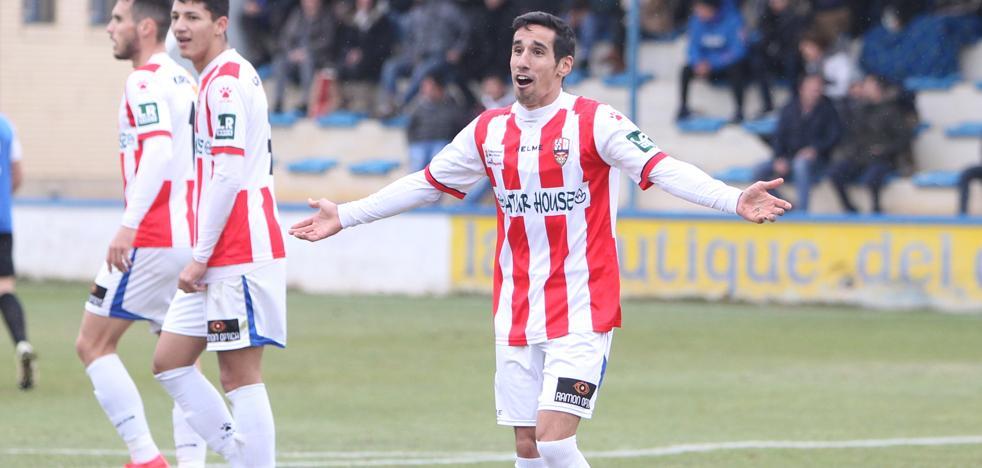 Los goles del Peña Sport-UD Logroñés (1-1)