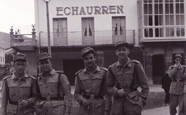 La Retina: prácticas militares de montaña en Ezcaray