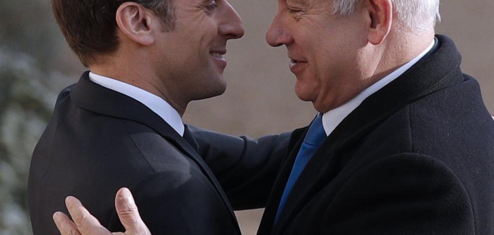 Macron pide a Israel gestos «valientes» para alcanzar la paz con los palestinos