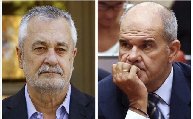 El PSOE-A defiende la honestidad de Chaves y Griñán a dos días del juicio de los ERE