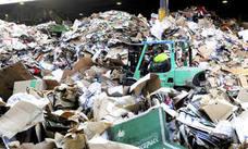 Logroño inicia una campaña de recogida selectiva de cartón en varias zonas comerciales