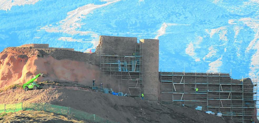 El castillo de Arnedo fortalece sus muros