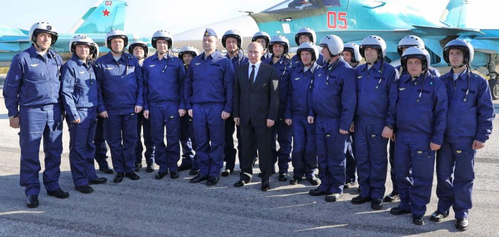 Putin toma el mando en Oriente Próximo