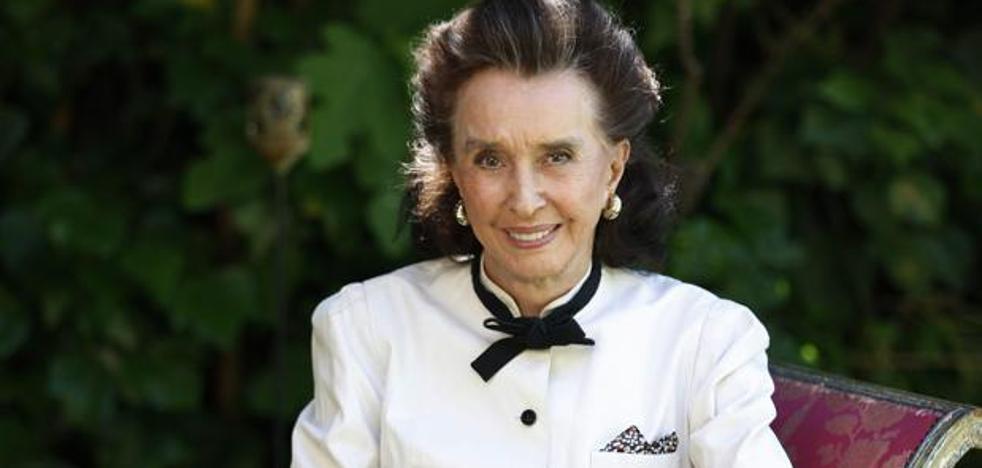 Muere Aline Griffith, condesa viuda de Romanones