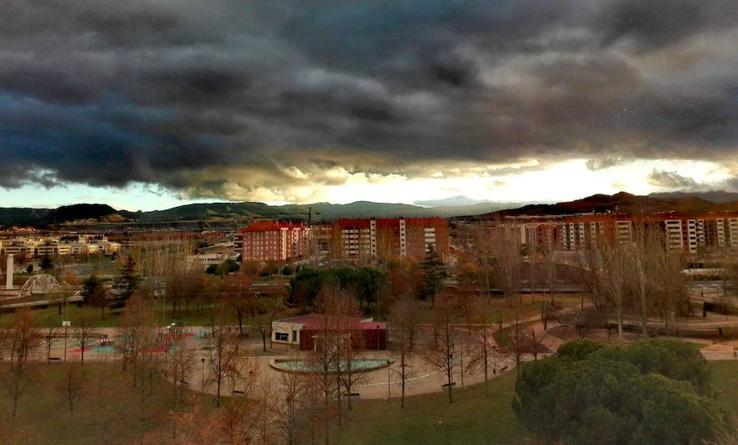 Mal tiempo; buenas fotos