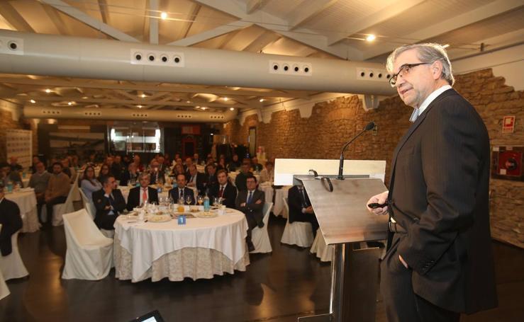 José Antonio Herce, en el encuentro informativo organizado por BBVA y Diario LA RIOJA
