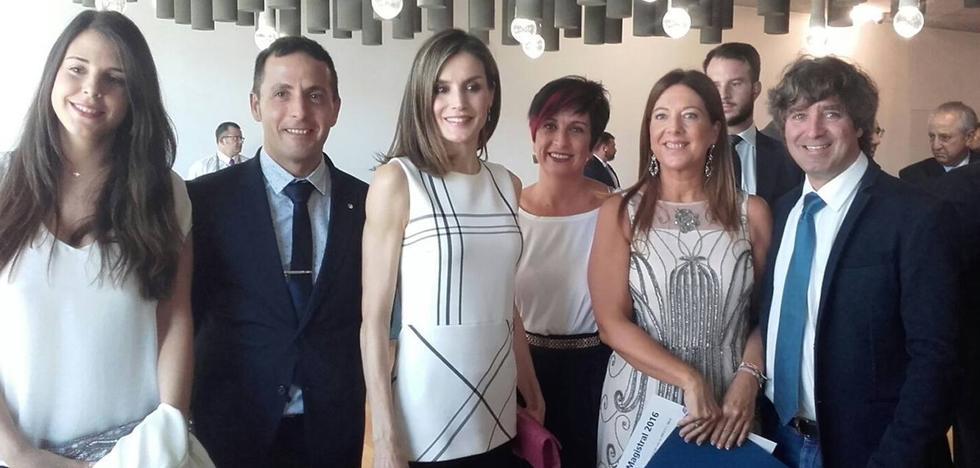 La reina Letizia entregará un premio al colegio Menesiano de Santo Domingo