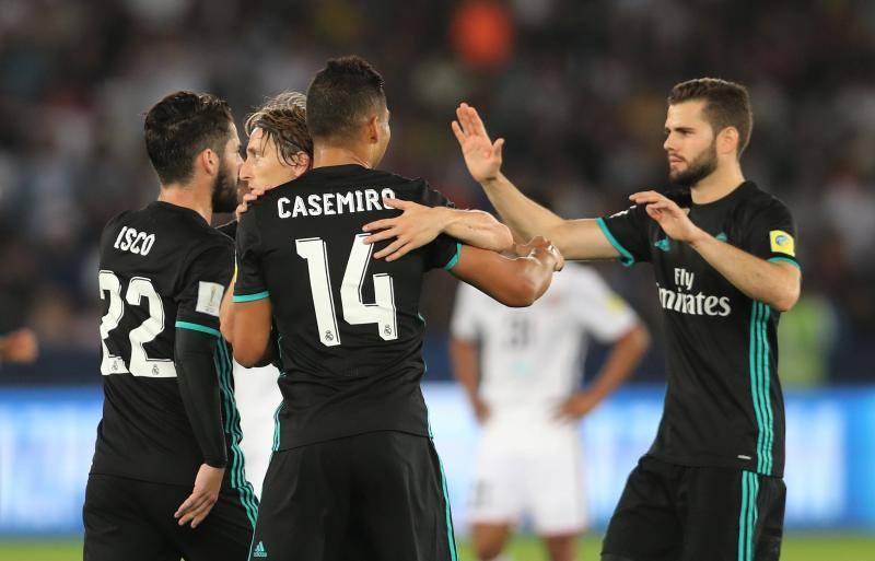 Las mejores imágenes del Al Jazira-Real Madrid