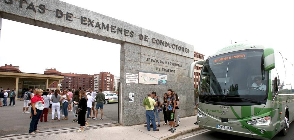 2.315 riojanos no pudieron examinarse del carné de conducir por la huelga de Tráfico