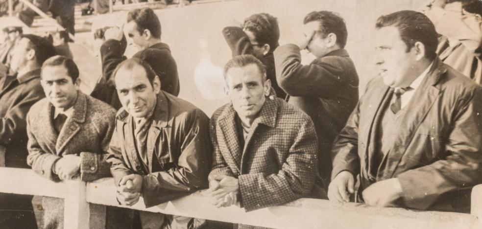 La Retina: calceatenses en El Mazo hacia 1960