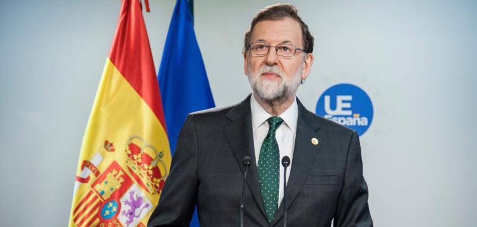 Rajoy apela a la mesura tras el asesinato de Víctor Láinez