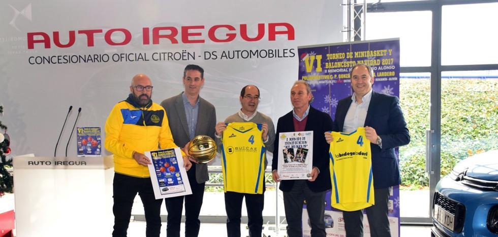 Lardero reúne a 25 equipos en su sexto torneo navideño, al que acude Arlaukas