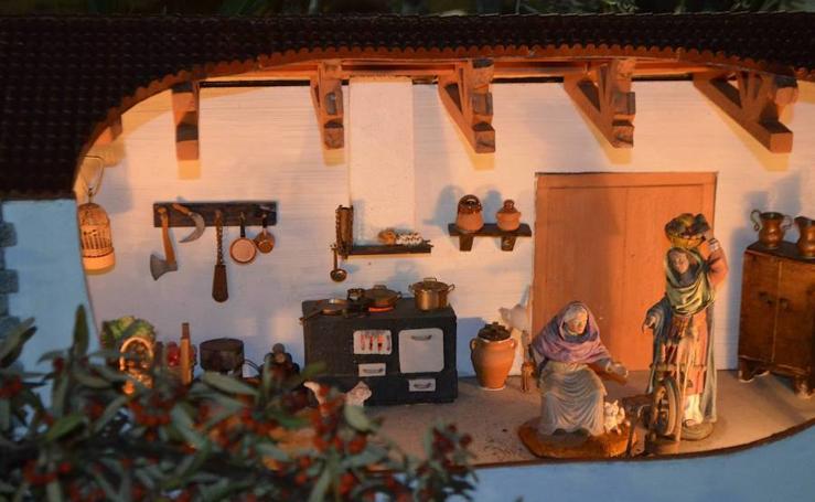 El belén municipal de Calahorra se abre al público
