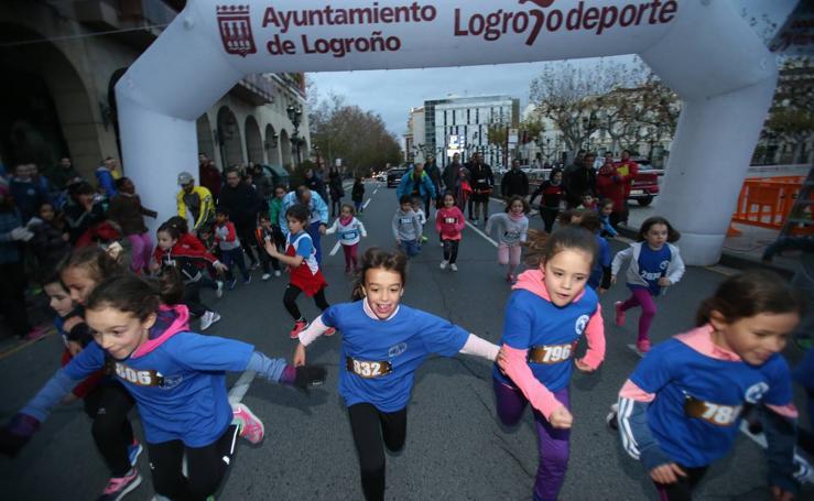 Carrera Virgen de la Esperanza en Logroño