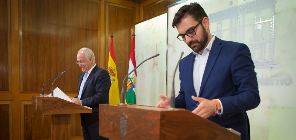 Ceniceros y Ubis firman este lunes el acuerdo sobre los presupuestos para 2018