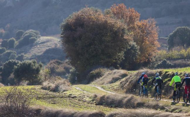 A la conquista de Clavijo en bicicleta