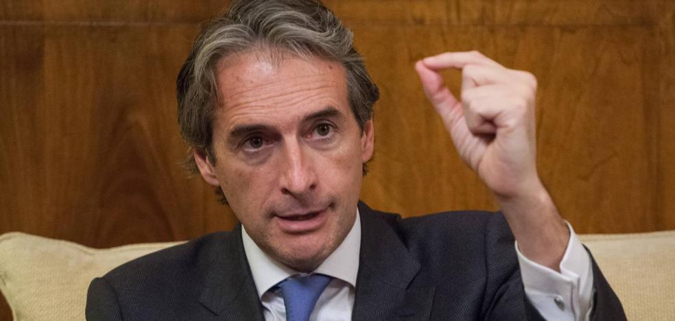 «Podría anunciar una segunda plataforma de alta velocidad con Castejón, pero no voy a generar falsas expectativas ni frustración»