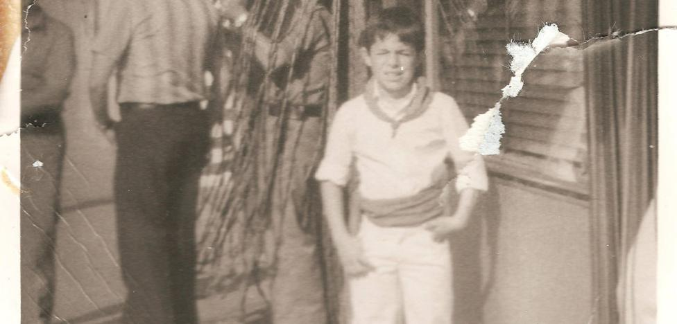 La Retina: retrato de niño hace 40 años en Calahorra