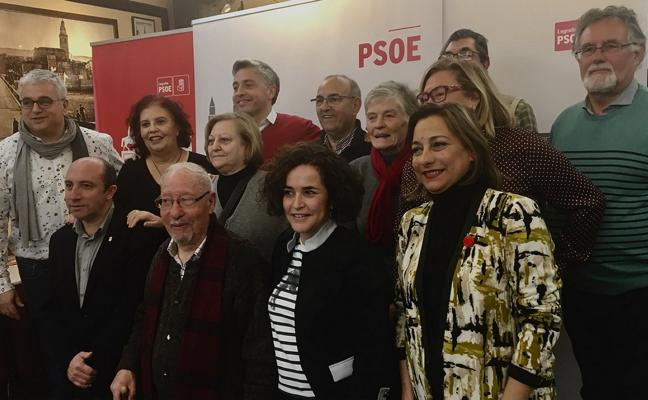 Homenaje de la familia socialista a sus afiliados