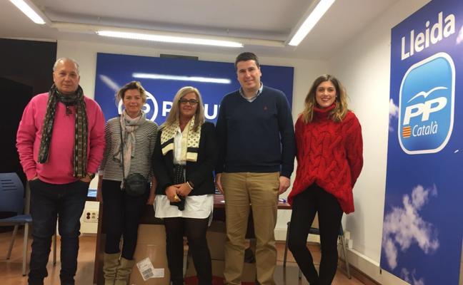 Riojanos del PP en Cataluña: un día entre banderas