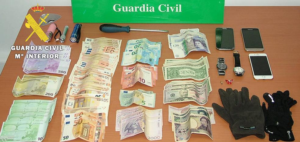 Detenidos tres miembros de una banda por robos en unifamilares de Burgos, La Rioja, Cantabria y Navarra