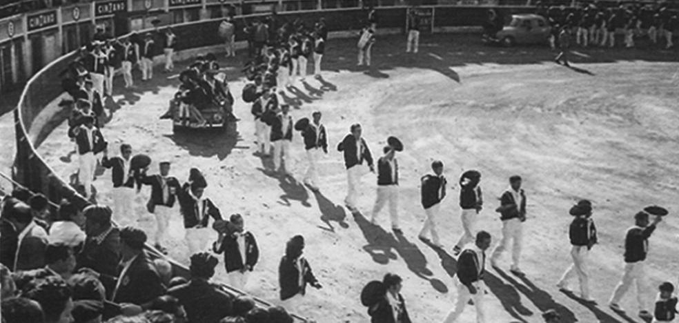 La Retina: festival de las peñas en 1970 en Logroño