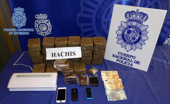 Intervenidos más de 15 kilos de hachís en Lardero que iban a ser vendidos en La Rioja