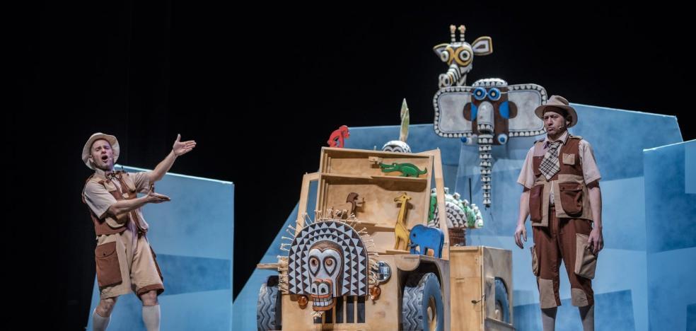 'Safari' de La Baldufa cierra el Festival de Marionetas