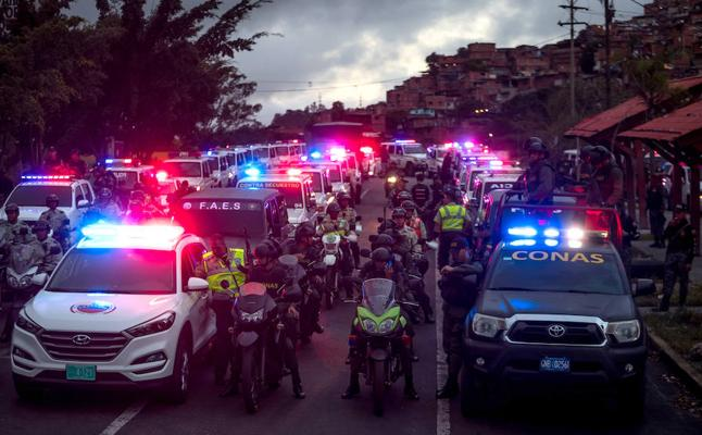 Detenido el guardia nacional que mató a una embarazada en el reparto de jamones en Venezuela