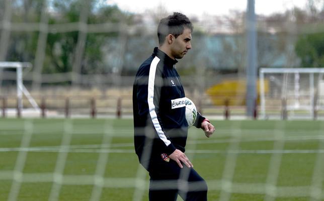 «La UD Logroñés está creciendo mucho. La guinda al trabajo que estamos haciendo sería el ascenso del primer equipo»