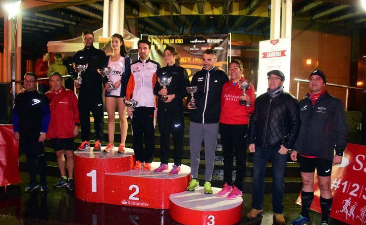 San Silvestre en Logroño: la carrera federada