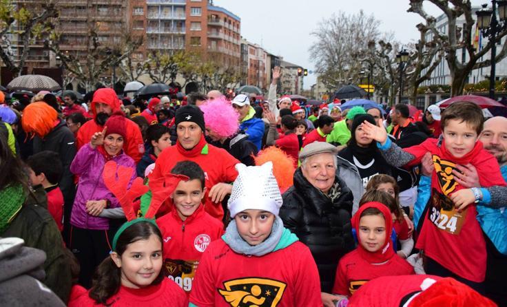 San Silvestre infantil en Logroño