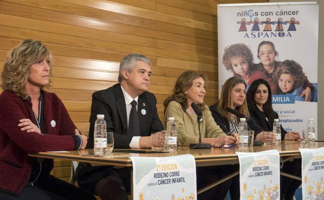 Rodezno correrá el domingo contra el cáncer