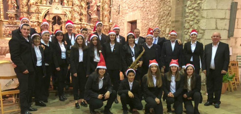Concierto de villancicos en Santurde de Rioja
