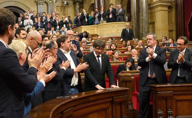 Esquerra presiona a Puigdemont para que aclare cómo prevé ser investido