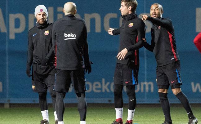 El Barça se juega su Copa ante el Celta sin Messi, Iniesta ni Luis Suárez