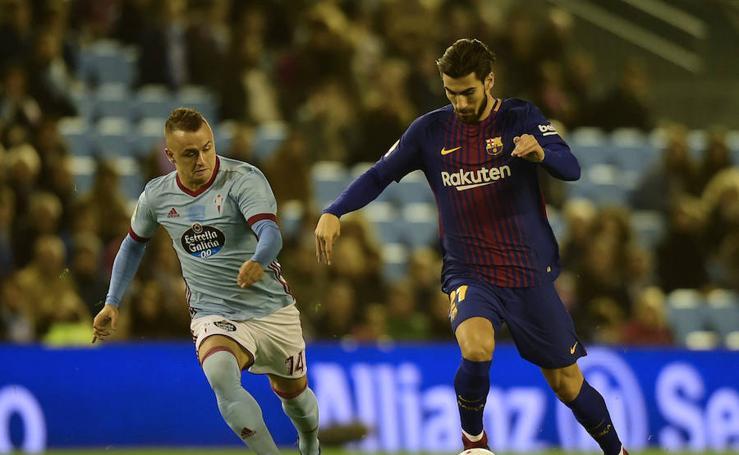 Los mejores momentos del Celta-Barcelona, en imágenes