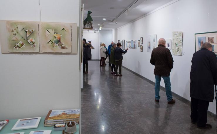 'Diálogos cocotológicos' de Begoña López en la Sala Ibercaja de San Antón