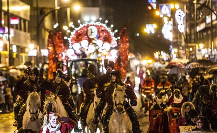 Cabalgata de Reyes en Logroño