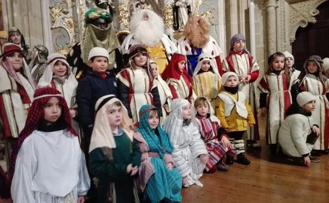 Casalarreina da vida a los Reyes Magos