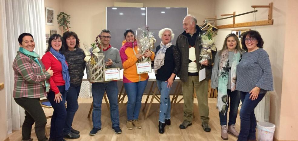Premios de decoración navideña en Ezcaray