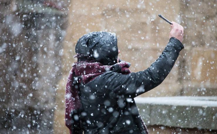 Temporal de nieve en La Rioja, las fotos de los lectores