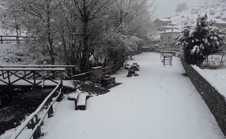 El temporal trae la nieve a La Rioja, las imágenes de los lectores