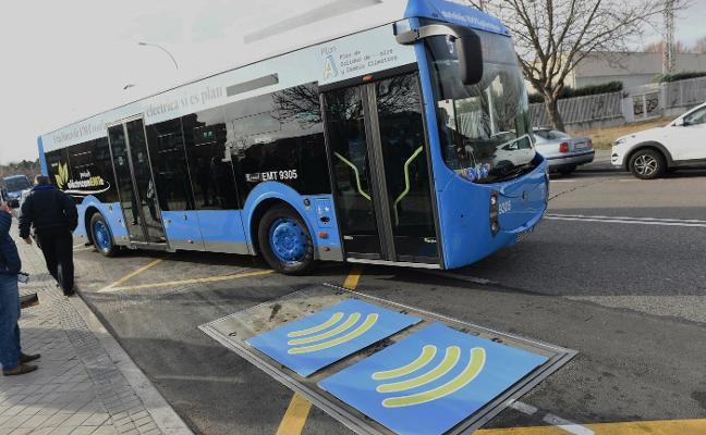 Autobuses eléctricos por inducción