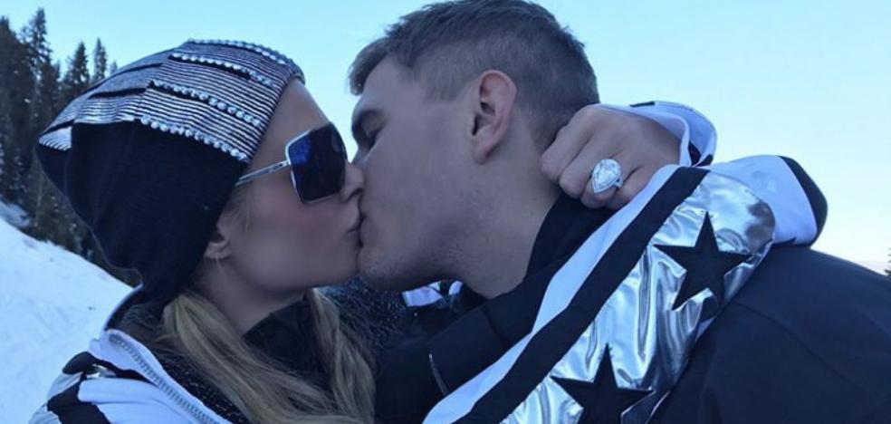 Paris Hilton le pone un guardaespaldas al pedrusco