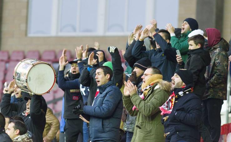 La UD Logroñés gana en Las Gaunas por 3-1 al Bilbao Athletic